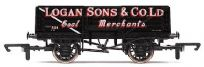 Hornby R6701 5 Plank Wagon Logan Sons & Co Ltd
